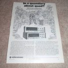 Kenwood QUAD Receiver AD from 1975,KR-9940,8840, specs