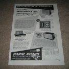 Radio Shack Realistic Speaker Ad from 1958