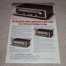 Luxman R-3045,3055,3030 Receiver Ad,specs, Nice Ad!