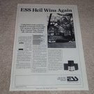 ESS Heil Air Speaker Ad,article,Test,1 page,Rare!
