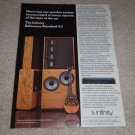 Infinity Reference Standard 4.5 Ad,EMIT,article,RARE!