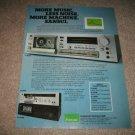 Sansui D-550M,D-95m,D-300m Cassette Deck AD from 1978