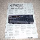 Yamaha RX-950 Class A Receiver Ad from 1991,specs