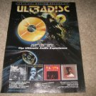 MFSL Ad from 1990 Ultradisc The Who,Coltrane,BB King
