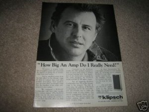 Klipsch FORTE Speaker AD from 1987