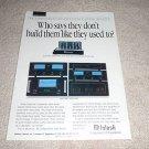 McIntosh MC1000,MC7300,7150,7100,7106 Amp Ad from 1992