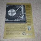 Garrard 50 Turntable Ad, 1966, Article, Info