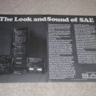 Entire SAE Line Ad,2 pgs,Amplifier,Equalizer,Preamp1977