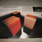 JBL L40 2 page Ad from 1974,color, perfect! Studio Spkr