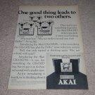Akai GX-630Dss,630d,DB Ad,1975,Article,Quad Open Reel