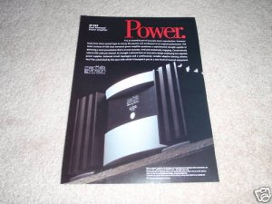 Mark Levinson No.333 Power Amp Ad from 1997
