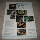 McIntosh Ad from 1990, Quality Sound...Article, History