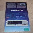 Sansui S-X1050 Receiver Ad, 1984, Article, Specs