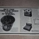 Teac A-3340 Open Reel Deck Ad,2 pgs, 1981,Article