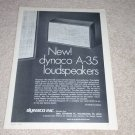Dynaco A-35 Speaker Ad, 1972, Article