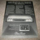 Phase Linear 3000 Preamp Ad from 1979, Bob Carver