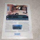 Lexicon CP-3 Surround Processor Ad, 1993,Article, CP-2