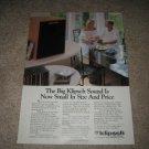Klipsch KG1 Ad from 1991