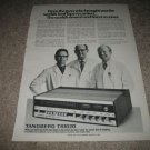 Tandberg TR-1020 Receiver Ad from 1973