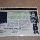 Soundcraftsmen SC-12ES Electrostatic Speaker Ad,1972