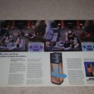 Bose 10.2 Speaker Ad, 1987,2 pgs, Article, Beautiful!
