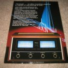 McIntosh MC7270 Power Amp Ad from 1987,BEAUTIFUL!