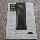 Dahlquist DQ-86.3CS Speakers Ad from 1997