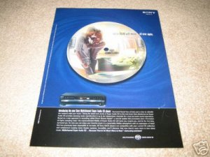 Sony SACD Ad from 2001 Multichannel Super Audio