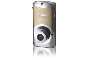 Canon PowerShot SD30 ELPH 5.0MP Dig. Camera (Glamour Gold)