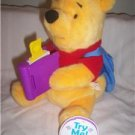 "Animated Stuffrd Pooh Bear ""Story Book Pooh"""