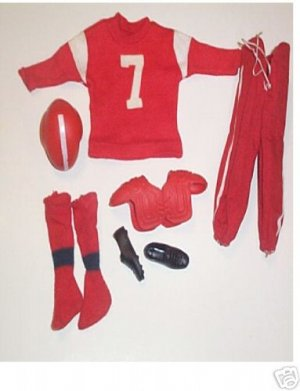 Vintage Ken Football Outfit #799