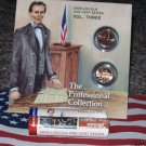 09 LINCOLN PENNY BOOKLET P&D ROLL LP3 PROFESSIONAL LIFE