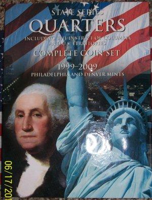 1999-2008 50P+50D Complete BU Statehood Quarter Set