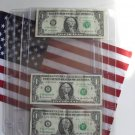 BCW Currency Storage Sheets-Box of 100 4-Pocket Pages