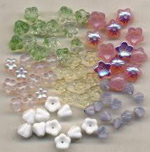 Mother's Day Glass Flower Bead Bouquet