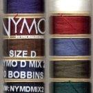 Nymo Set #2 - 10 Colors Nymo Size D Beading Thread Sampler