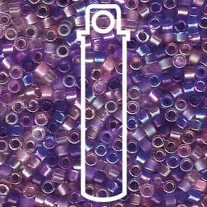Lilac Delica Beads Miyuki Purple Amethyst
