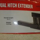 4000 LB Dual Hitch Bicycle Receiver Extender Extension