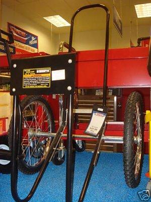 NEW ROLLING FIREWOOD LOG CART CARRIER HAULER 200lb