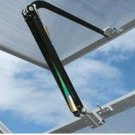 GREENHOUSE SOLAR POWERED AUTOMATIC WINDOW VENT OPENER