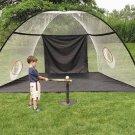 Wilson Extreme Challenge Net & Mat Batting Cage Golf
