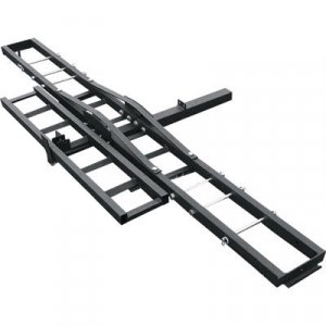 400 Lb. Hitch Receiver Mount Motorcycle Carrier Trailer