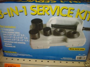 NEW 3-in-1 Ball Joint/U-Joint/C-Frame Press Service Kit