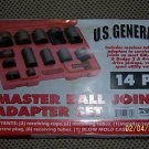 NEW 14 Pc. Master Ball Joint Adapter Set GM FORD DODGE