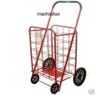 NEW Extra Large BLACK Heavy Duty Shopping Grocery Cart
