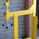 NEW ENGLISH WHEEL PLANISHING HAMMER & STAND SHEET METAL