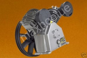 NEW 140 PSI AIR COMPRESSOR PUMP TWIN CYL FOR 3 HP MOTOR