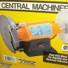"NEW! 8"" Wheel Buffing Bench Top Buffer & Grinder 3/4 HP"