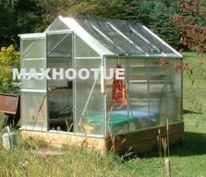 NEW COTTAGE STYLE GREENHOUSE! Polycarbonate Green House
