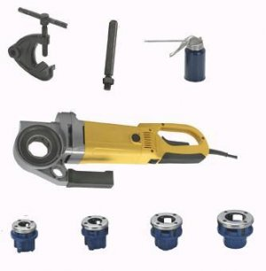 NEW Heavy Duty Portable Electric Plumbing Pipe Threader